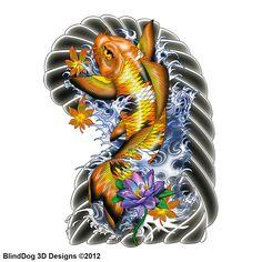 #Koi #fish #tattoo #sketch #japanese