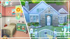THE SIMS 4 Parenthood House | Speed Build