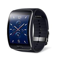 Samsung Galaxy Gear S R750W Smart Watch w/ Curved Super AMOLED Display (Black) - International Version No Warranty Samsung http://www.amazon.com/dp/B00PHPW1NC/ref=cm_sw_r_pi_dp_wAM-ub0ZYMDS0