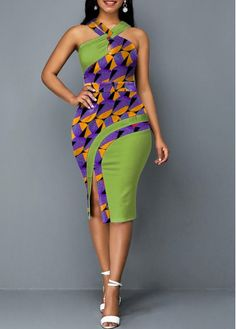 Package X Dress;s Length:Sleeveless; Latest African Fashion Dresses, African Dresses For Women, African Attire, African Print Fashion, Women's Fashion Dresses, Sexy Dresses, Dresses With Sleeves, Latest Dress For Women, Peplum Dresses