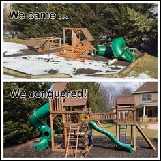 Reassemble, modify, repair. Wood Playground, Relocation Services, All Brands, Yard, Patio, Courtyards, Garden, Court Yard