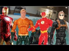 Homem de Ferro Falcão Flash Aquaman Soldado Invernal  Piscina Swimming P...
