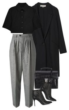 """Untitled #7990"" by nikka-phillips ❤ liked on Polyvore featuring Gérard Darel, Yves Saint Laurent, Alexander Wang and Alexander McQueen"