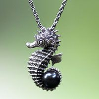 Sea Horse Legend from @NOVICA, They help #artisans succeed worldwide.