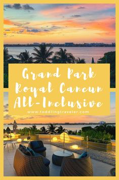 If you're looking for a luxury resort in Cancun, Grand Park Royal Cancun is an all-inclusive resort that's great for families and couples alike. Cancun All Inclusive, Cancun Resorts, Mexico Resorts, Couples Resorts, Family Resorts, Family Vacations, Park Royal Cancun, Travel Couple, Family Travel