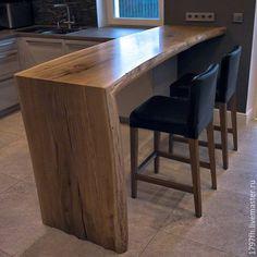 Мебель ручной работы. Ярмарка Мастеров - ручная работа. Купить Стол для бара. Handmade. Барный стол, высокий стол, 35000=