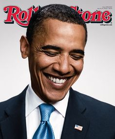 The first American president to publicly support gay marriage.  He will lose votes because of it.  I respect him for it.