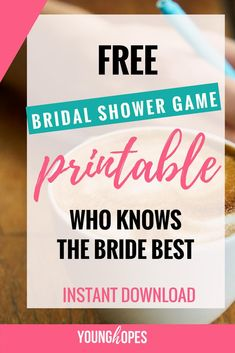 Free Bridal Shower Game Printable Free Bridal Shower Games, Printable Bridal Shower Games, Pregnancy Food Cravings, Baby Gender Prediction, Iron Rich Foods, Food Charts, No Dairy Recipes, Foods To Avoid, Pregnancy Tips
