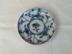 Tiny Asian Blue and White Dish by iLikeEclectic on Etsy