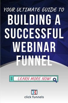 Learn how to build your own webinars or educational funnels using ClickFunnels. Complete with screenshots and easy-to-follow instructions, we will quickly teach you the basics of marketing online through digital training. Click through now Sales And Marketing, Marketing Ideas, Online Marketing, Building Software, Lead Generation, Case Study, Encouragement, Presentation, Success