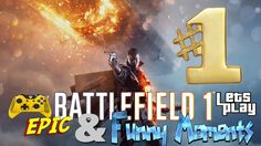 Battlefield 1 epic and funny moments of the week #1