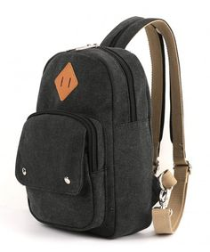 902ef3c0de Lightweight Mini Backpack Cute Fashion Small Bag Daypack for Women - Black  - CV182YR5QGH