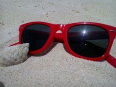Sunglasses, sand and sea. I don't need more :)