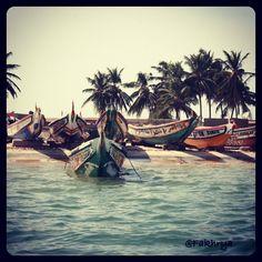 "Comment: akikoushida said ""#pirogue #senegal #africa #ile #sinesaloum"""