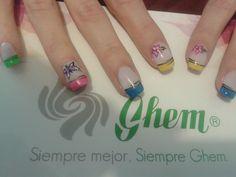 Colección color ful de esmaltes GHEM