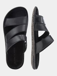 Men's Sandals, Leather Sandals, Stylish Sandals, Fashion Flats, Leather Men, Feelings Wheel, Men's Shoes, Slippers, Footwear