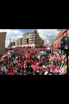 Opening Day 2013 Cincinnati Reds