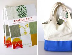 my new book is finally out!  Fabrics A to Z