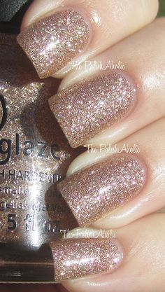 The PolishAholic: China Glaze Holiday 2012 Holiday Joy Collection: Champagne Kisses