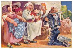 Sancho arma caballero a D. quijote, Stefan Mart