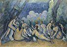 Cézanne. Bathers (Les Grandes Baigneuses). Room 45.