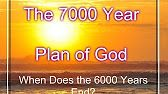 6000 year age of man ends - https://www.youtube.com/watch?v=gTIsNf2ldhM