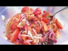ВКУСНОТИЩА! Маринованные помидоры за 2 часа! Закусочный салат по -летнему - YouTube