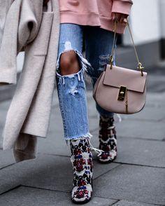 Isabel Marant boots & Chloé Drew bag