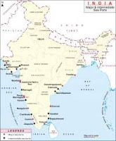 Find the List of Major Sea Ports in India. Map highlights the location of intermediate and major sea ports in India Ias Books, Ports In India, Names Of Birds, Geography Map, India Facts, India Map, History Of India, Historical Maps, Study Materials