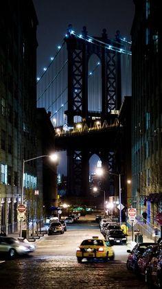 Puente de Manhattan, foto de la ciudad de Nueva York a través de jennifer