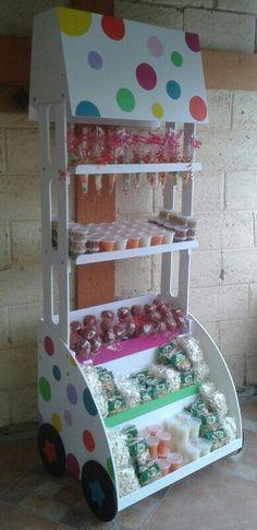 Carrito para dulces