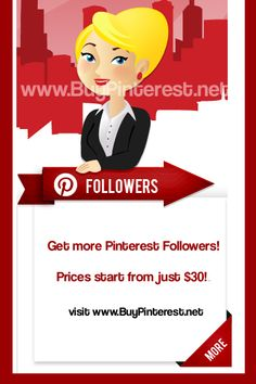 Just found this website for those interested in getting more Pinterest followers!