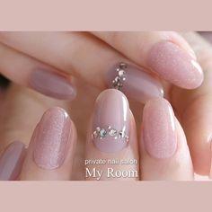 nails - Designs of Beautiful Decorated Nails nailsdecoradasfrancesa, bestnailart dessinsd'ongles diseñosdeuñas nageldesign nail nailart nailartdesigns nailarttutorial naildesigns nails дизайнногтей ネイルデザイン、 Love Nails, Pink Nails, Pretty Nails, My Nails, Bride Nails, Wedding Nails, Office Nails, Nagellack Design, Gel Nagel Design
