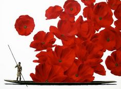 Pedro Ruiz(born in Columbia, lives in France) Picasso, Project Place, Colombian Art, Acrylic Resin, Museum Of Modern Art, Red Poppies, Art Direction, Amazing Art, Contemporary Art