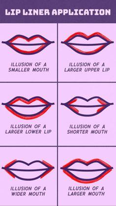 Lip liner hack.