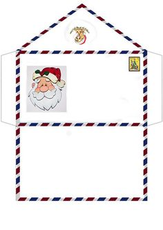 10 Envelopes para Cartinhas de Natal para Baixar e Imprimir - Online Cursos Gratuitos Christmas Envelopes, Printable Christmas Cards, Christmas Templates, Christmas Gift Tags, Christmas Love, All Things Christmas, Christmas Holidays, Christmas Fair Ideas, Christmas Activities