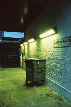 London by Tyler Drummond Night Photography, Color Photography, Neon Noir, Alone In The Dark, Neon Nights, Night Aesthetic, Urban City, Night City, Neon Lighting