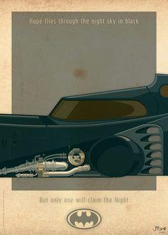 Batmobile art
