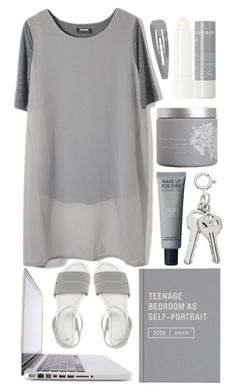 """""""Madison"""" by unknownreasons ❤ liked on Polyvore featuring Forever 21, ASOS, red flower and Korres"""