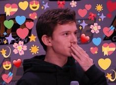 Marvel Memes and Tom Holland being cute and stuff. Tom Holland, Heart Meme, New Memes, Loki Thor, Cute Memes, Marvel Memes, Avengers Memes, Wholesome Memes, Reaction Pictures