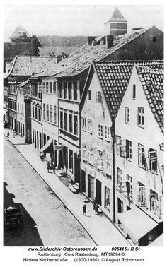 Rastenburg Ostpreußen,   Hintere Kirchenstraße