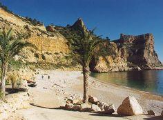 Tango cliff in Javea