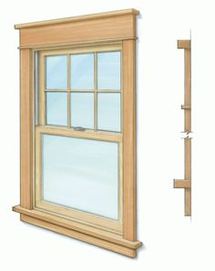 Interior casings are the finishing trim to a window installation but the profiles are often