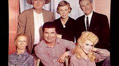 """The Beverly Hillbillies"" cast (l-r): Irene Ryan, Buddy Ebsen, Max Baer, Nancy Kulp, Raymond Bailey and Donna Douglas (AP) Easy Listening, Great Tv Shows, Old Tv Shows, Irene Ryan, Max Baer, Donna Douglas, Buddy Ebsen, Jazz, The Beverly Hillbillies"