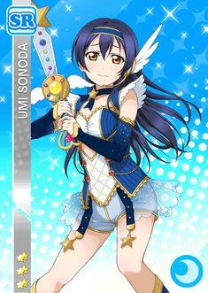 Umi Sonoda - Love Live [Cards] - Manga y anime en Taringa! Anime Love, Umi Love Live, Chibi, Festival Games, Spice And Wolf, Tokyo Mew Mew, Anime Artwork, Manga, Magical Girl