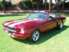 1965 Ford Mustang, gorgeousss.