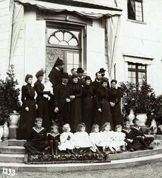 Family gathering in Denmark, 1899