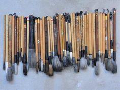 fude (brushes)