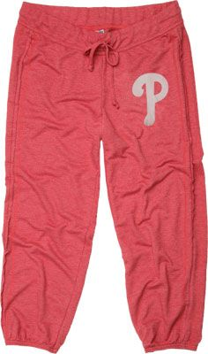Philadelphia Phillies Women's Red Retreat Pants