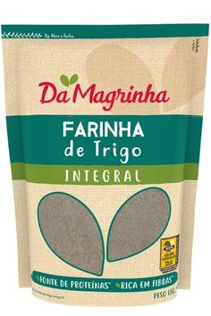 FARINHA DE TRIGO 100% INTEGRAL Cookies, Drinks, Food, Protein Sources, Whole Wheat Flour, Lean Body, Crack Crackers, Drinking, Biscuits